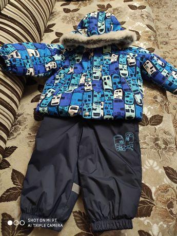 Зимний костюм для мальчика Lenne