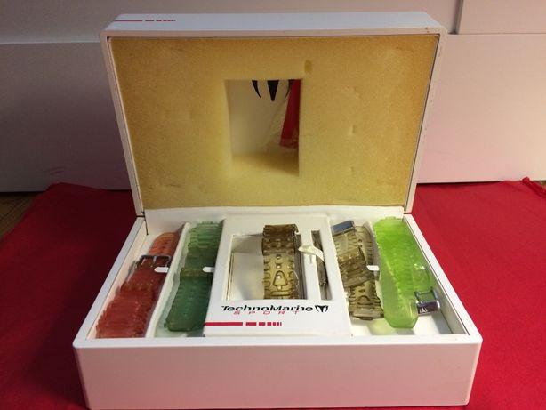 (Raras) Braceletes Relógio marca TechnoMarine, sport box