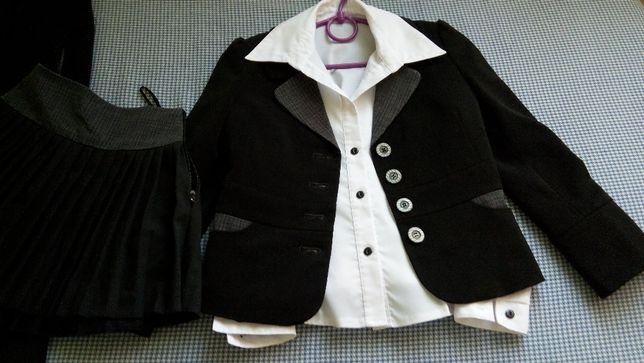 Форма школьная комплект 3 предмета-пиджак, юбка, брюки