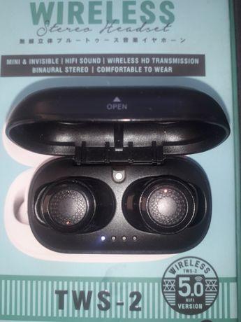 Беспроводные наушники Remax TWS-2 Black True Wireless