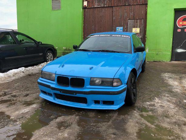 DRIFT bmw 240KM e36 coupe drift open dmp 3.0 gwint