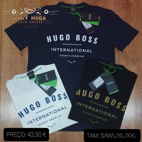 """T-SHIRTS & PÓLOS """"  HUGO BOSS""""        (100%)  """" ORIGINAIS """""""