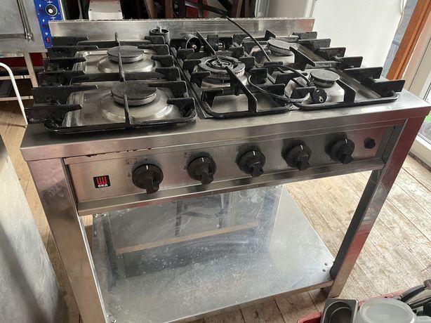Profesjonalna kuchenka gazowa