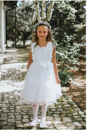 Alba komunijna sukienkowa + sukienka na przebranie + dod