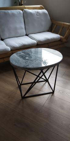 Stolik kawowy designerski kamień naturalny jedyny taki