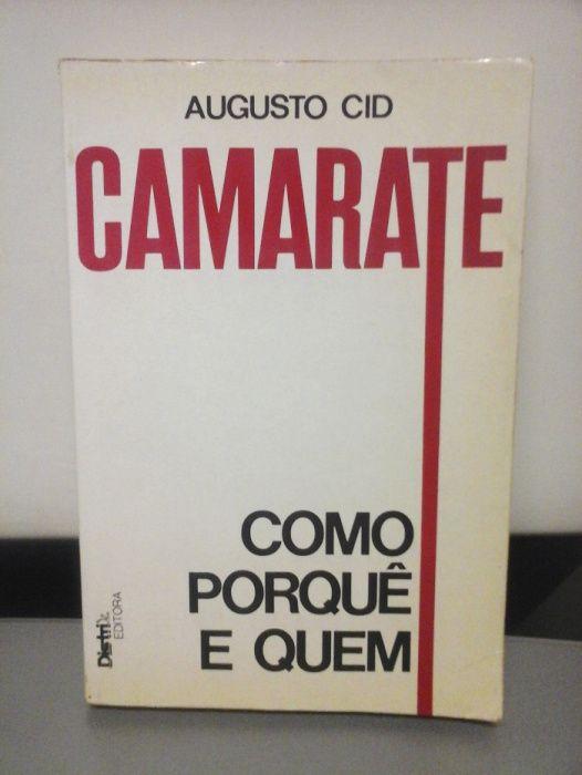 LIVRO RARO – Camarate – Como Porquê e Quem - de Augusto Cid ENTREGA JÁ