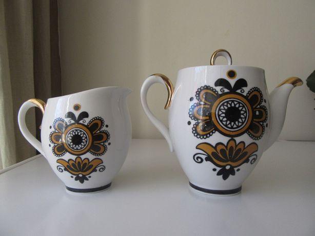 Фарфоровий чайник фарфор ссср