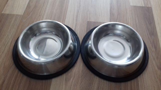 Miski dla psa metalowe