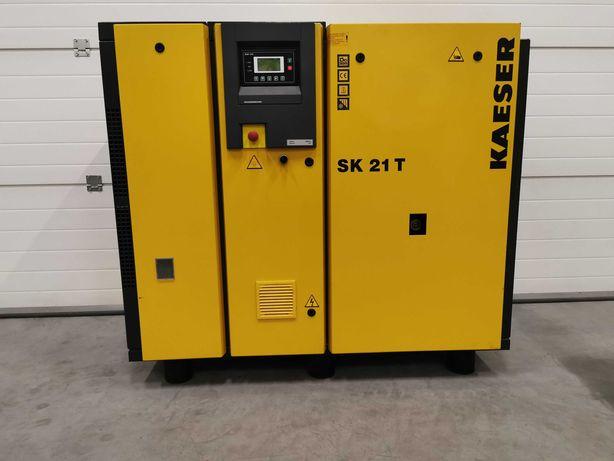 Sprężarka śrubowa 11kw KAESER kompresor 1800l/min +OSUSZACZ