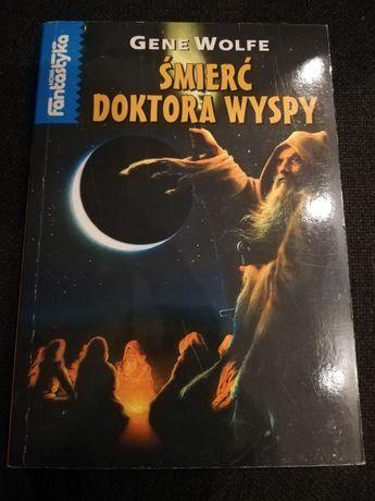 Książka Śmierć Doktora Wyspy Gene Wolfe z 1995!