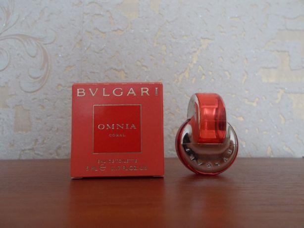 Духи Bvlgari Omnia Coral мини/миниатюра