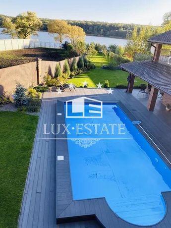 Предлагаем снять дом в Круглик с бассейном и своим выходом на озеро