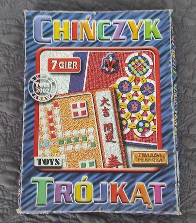 Zestaw gier planszowych chińczyk i pamięć