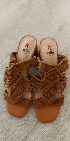 Sandálias em corda NR 39
