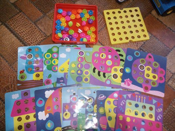 Крупная мозаика для детей
