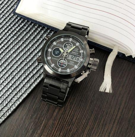 Мужские наручные часы AMST 3003C Metall All Black