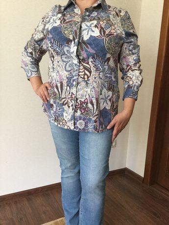 Продам рубашку блузку батник женский 100% хлопок