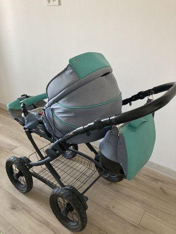 Детская коляска Anex 2 в 1 с люлькой
