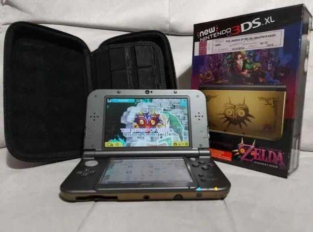 Nintendo 3ds xl ediçao especial + 100 jogos