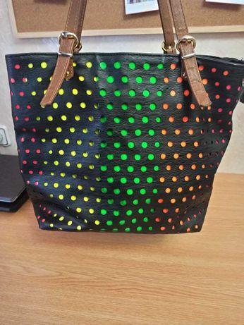 Женская сумка с необычным принтом