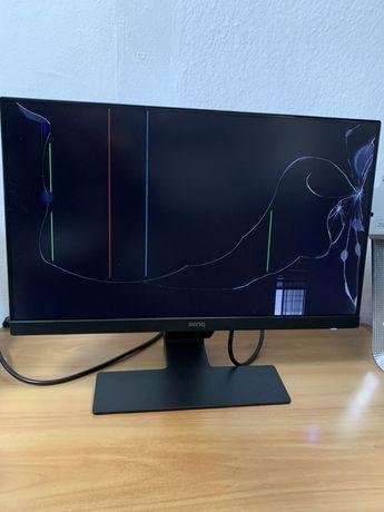 Монитор 21,5 benq gw2280 разбита матрица