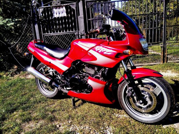 Kawasaki GPZ 500 po dużym serwisie