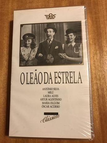 Filme VHS O Leão da Estrela (novo, selado)