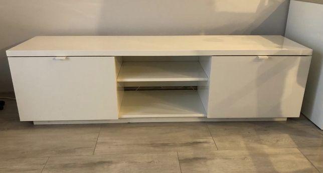 Komoda BYÅS Ikea biała, połysk