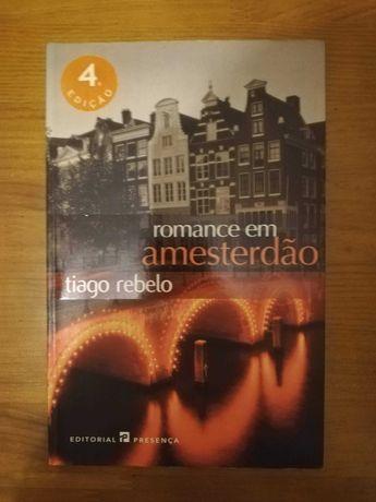 Livro Romance em Amesterdão, Tiago Rebelo