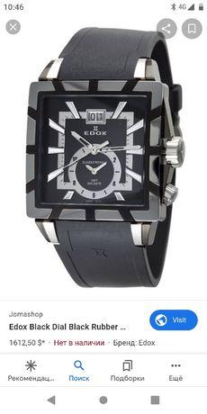 Швейцарские часы edox в отличном состоянии без коробки цена новых 1500