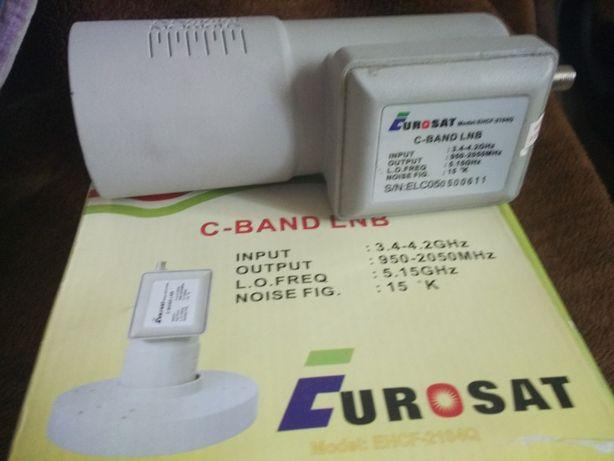 Конвектор спутниковое ТВ C-band lnb