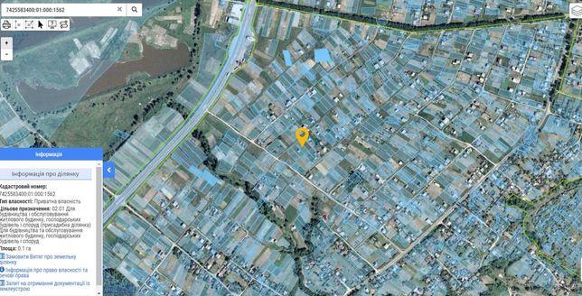 Земельна ділянка, 10 соток - під будівництво, Киїнка