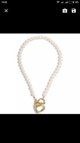 Ожерелье жемчуг на шею НОВОЕ