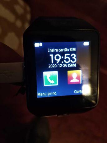 Relógio smartwatch novo com caixa de origem