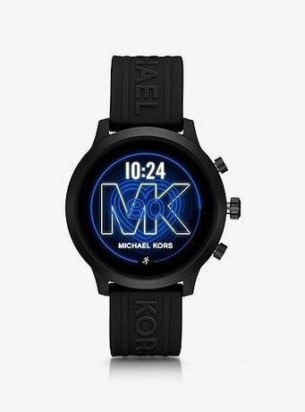 Черные смарт часы Michael Kors, часы Майкл Корс, оригинал