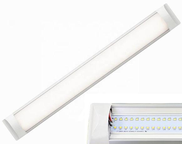 Lampa LED 120cm ŚWIETLÓWKA oprawa Panel Natynkowa Do Warsztatu Garażu
