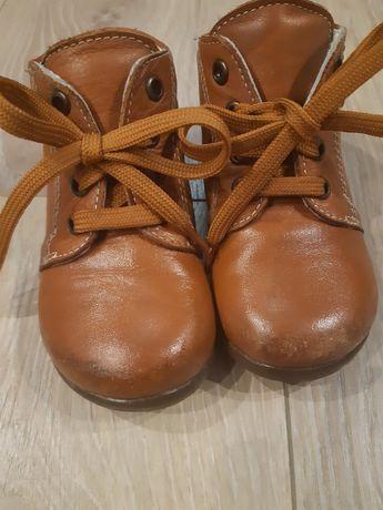 Buty skórzane rozm.21