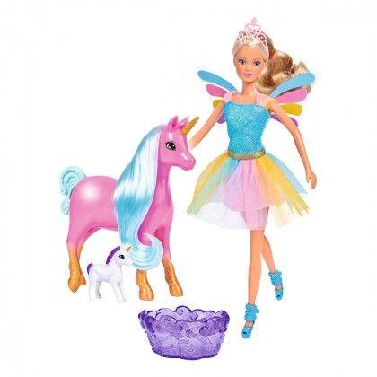 Единорог беременная и кукла Steffi 5733313