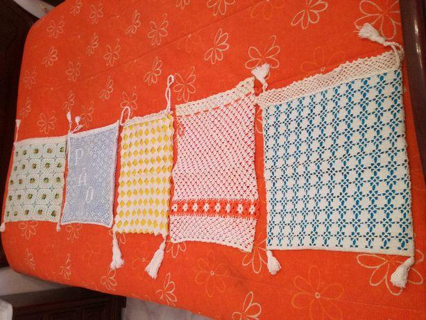 5 Bolsas para o Pão Em Crochet
