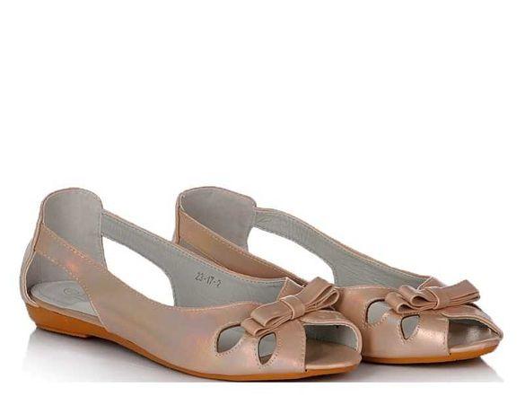 Бежевые женские балетки лето летняя обувь!40-42!ХИТ!НАЛОЖКА