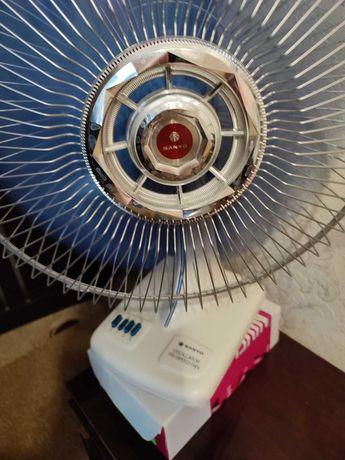 Винтажный японский вентилятор SANYO EF-12SP