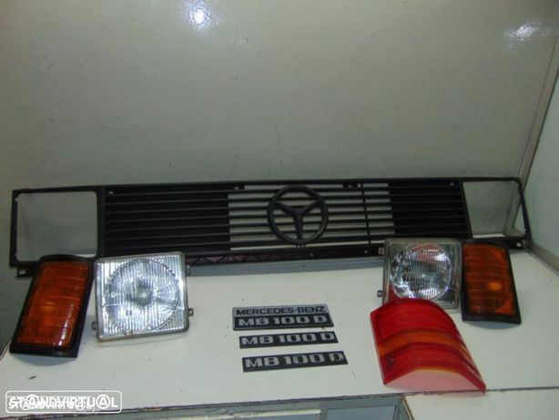 Mercedes Furgão MB 100D vários grelha original