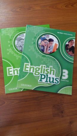 Учебники английского языка English Plus 2nd edition 3 (новые) комплект