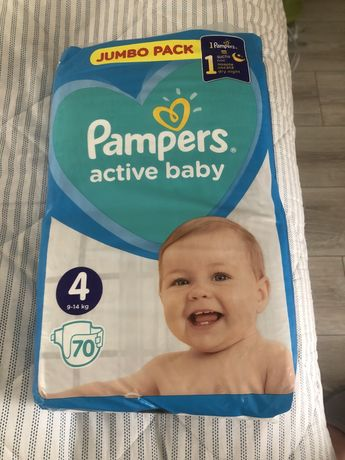 Pampers active baby 4 (9-14 kg)