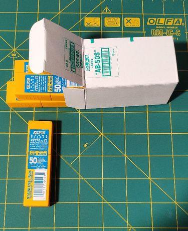 Лезвия тонировочные Olfa AB-50S 30° 30 градус 9 мм олфа пленка нерж