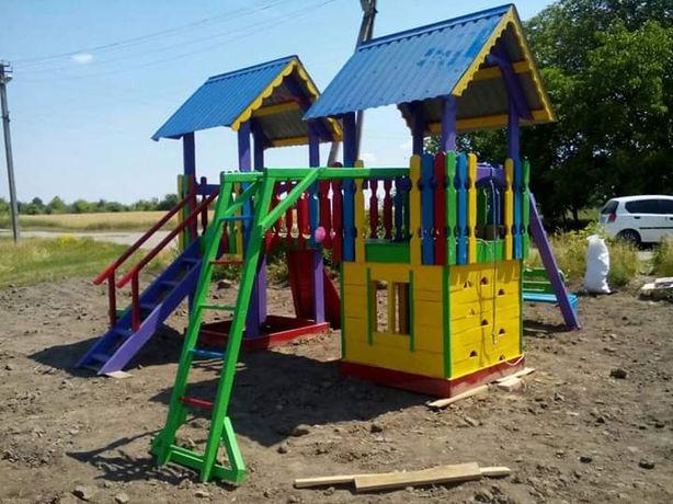 Дитячий майданчик на один,два ,три будиночки,ціна різна