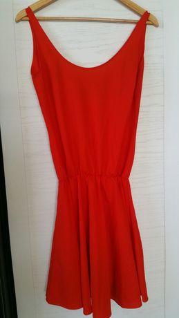 Sukienka czerwona MANGO r.M