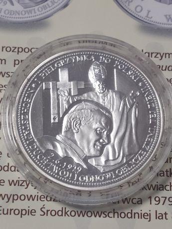 Medal Jan Paweł II-Pierwsza pielgrzymka do Polski.