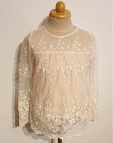 Reserved koronkowa bluzka dziewczęca jak nowa rozm.122
