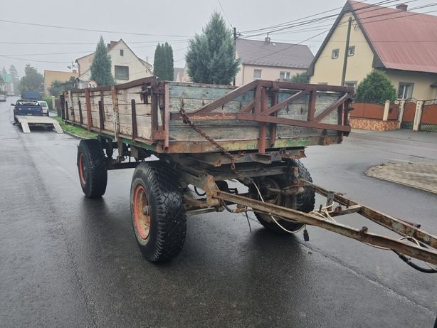 Przyczepa rolnicza ifa hl 6011 hw 6 ton Brandys panav bss